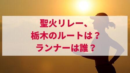 東京オリンピック聖火リレールートランナー